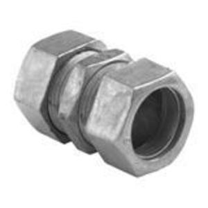 "Bridgeport Fittings 262-DC EMT Compression Coupling, 1"", Zinc Die Cast, Concrete Tight"