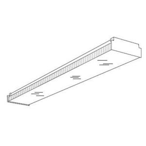 Hubbell-Columbia Lighting SHLD-AWN-4FT Hubbell - Lighting SHLD AWN 4FT