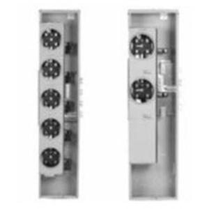 GE TMPR8412R Meter Stack Module, 800A, 4 x 125A Socket, 1PH, Ringless, NEMA 3R