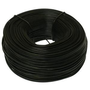 Metallics MTW16 Tie Wire, 16 AWG, Steel, Black Annealed, 350' Roll