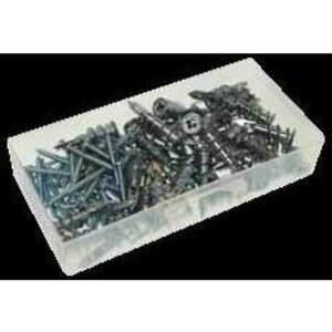 "Metallics ZSA1K Anchor Kit, 8 x 1-1/4"", Self-Drilling Screws, Pan Head, Tri-Drive"