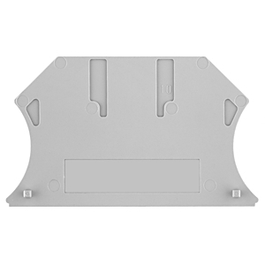 Allen-Bradley 1492-EBJ3 Terminal Block, End Barrier, Gray, for 1492-J3, J4, J6, J10