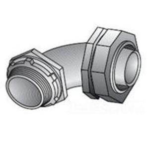 "EGS LML-61 Liquidtight Connector, 90 Degree, 2"", Die Cast Zinc"