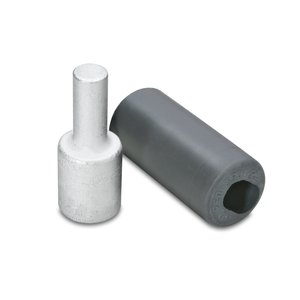 Burndy AYP250 Terminal Plug, Aluminum, 250 MCM, AL/CU Rated