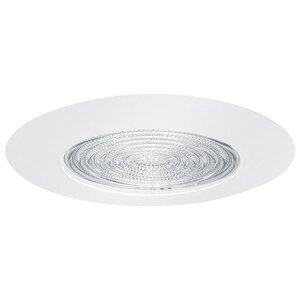 """Elite Lighting B605SN Shower Trim, Metal Fresnel, 6"""", Satin Nickel"""