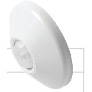 Sensor Switch CMR-10 Occupancy Sensor, Extended Range, Infrared, Ceiling Mount, 360°, Line Voltage