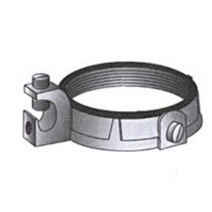 """OZ Gedney IBC-150L-4AC Grounding Bushing, 1-1/2"""", Threaded, Insulated, Malleable Iron"""