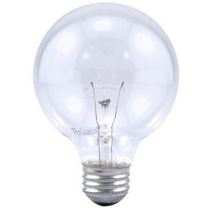 Philips Lighting 40G25/CL/LL-120V-12/1-TP Incandescent Decorative Lamp, G25, 40W, 120V