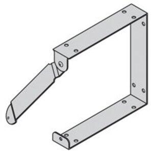 """Cooper B-Line 1212-C Wireway U-Connector, Steel, Gray, Type 1, 12"""" x 12"""""""
