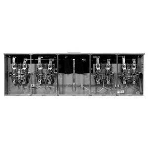 Milbank U2754-X-5T9 | Milbank U2754-X-5T9 Meter Base, 4 Gang