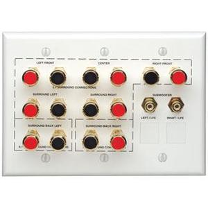 Leviton AEHTK Home Theater Wall Plate 3g