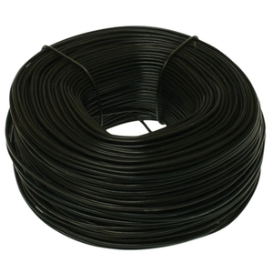 Metallics MTW12 Tie Wire, 12 Gauge, Steel, Black Annealed, 165' Roll