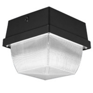 Lithonia Lighting VR3C50S120LPI Vandalproof Fixture, High Pressure Sodium, 50W, 120V