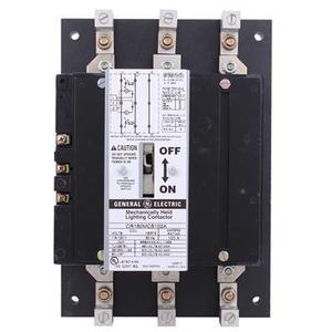 GE CR160MC5102A Lighting Contactor, 100A, 3PH, 120VAC Coil, Open