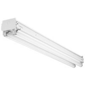 Lithonia Lighting TUNS-1-32-MVOLT-GEB10IS Industrial Strip, Tandem, 4', 1-Lamp, T8, 120/277V, 32W
