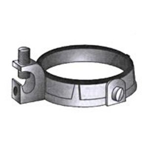 "OZ Gedney IBC-125LS-4AC Grounding Bushing, 1-1/4"",Threadless, Insulated, Malleable Iron"