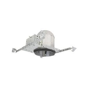 "Elite Lighting B6PLIC-13-E-AT Compact Fluorescent IC Housing, Air-Shut, 6"", 13W, 120V"