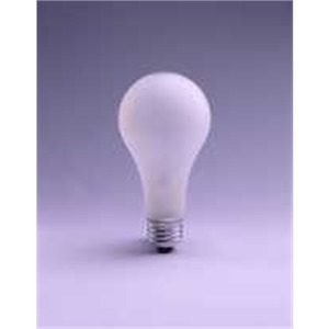 SYLVANIA 40A15/SL-120V Incandescent Bulb, A15, 40W, 120V, Frosted