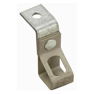"Erico Caddy 4TIB Rod & Wire Angle Bracket, For 1/4"" Threaded Rod, Steel"
