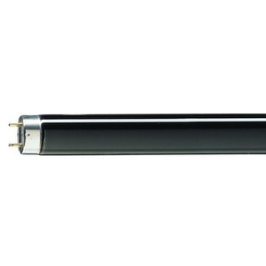 Philips Lighting F20T12/BL-25PK Fluorescent Lamp, T12, 20W, Black Light