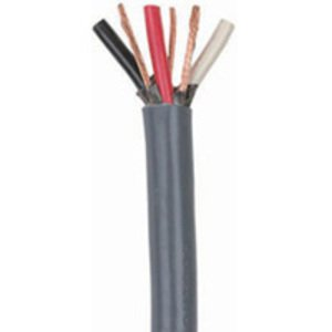 Coleman Cable 503110409 Bus Drop Cable, 8/3, Gray, 250'