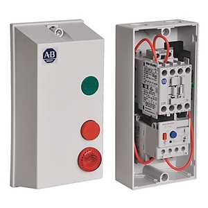 Allen-Bradley 198E-C0S4 Enclosure, with Start, Stop/Reset, Buttons, Plastic, NEMA 4/4X/12