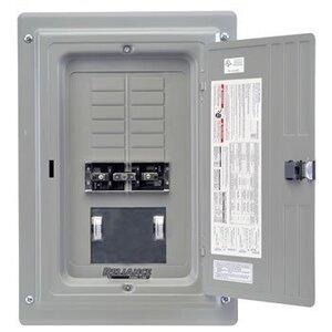 Reliance Controls TRC0603C Manual Transfer Panel, 60A, 12/20 Circuits, NEMA 1, 7.5kW Input
