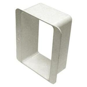 Bridgeport Fittings BXE-100 Box Extender, 1-Gang, For Nonmetallic Boxes