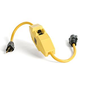 Woodhead 20054 User Attachable GFCI In-Line, Manual Reset, Non-Corded, 20A, 120V