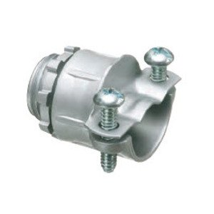 Arlington 4202 Flex Connector, 2-Screw, Straight, 3/4 Inch, Die Cast Zinc
