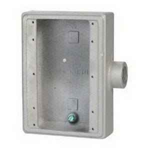 """Appleton FS-3-75 FS Device Box, 3-Gang, Dead-End, TYPE FS, 3/4"""", Malleable Iron"""