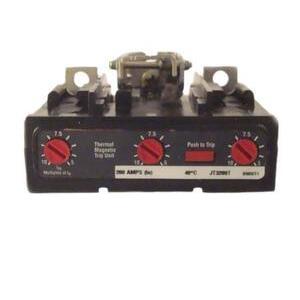 Eaton JT3250T Trip Unit, Breaker, Molded Case, 250A, 3P, 600V, Type JT