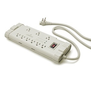 Leviton S2000-PS Power Strip, 9-Outlets, 15A, 6' Cord