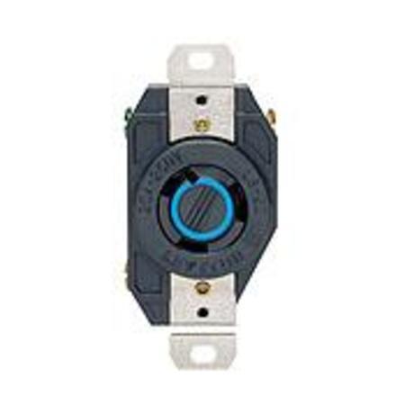 leviton - 2320, 20 amp receptacles, nema twistlock single, wiring devices -  platt electric supply