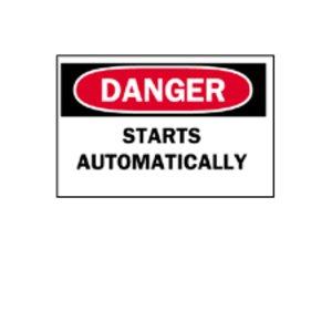 Brady 88172 Machine & Operational Sign