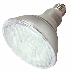 Satco S7201 Compact Fluorescent Lamp, PAR38, 23W, 2700K