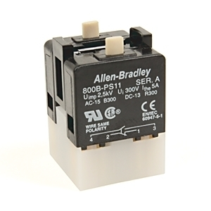 Allen-Bradley 800B-PS22 800B 16 MM PUSH-BUTTON