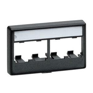 Panduit CFFPL4BL Mini-Com®, Furniture Faceplate