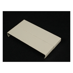 Wiremold V3006E Raceway Cover Clip, 3000 Series, Steel, Ivory