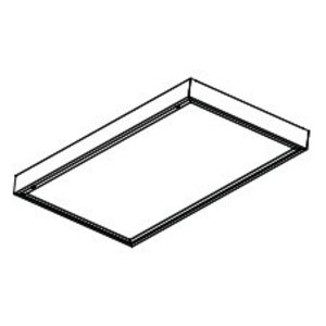 Lithonia Lighting 2M332A12125MVOLTACNP Surface Modular Fixture, 4', 3-Lamp, T8, 32W, 120-277V