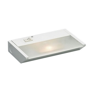 "Kichler 12011WH Undercabinet Light, Xenon, 1-Light, 7"", 20W, 120V, White"