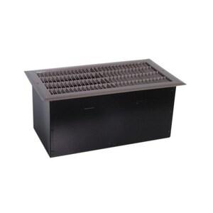 Qmark FDI1504 1,500/750w @ 240v (1,125/563w @ 208v) Floor Drop-in-heater Fan Forced