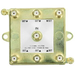 Leviton 47690-G6 1X6 2GHZ VIDEO SPLTR