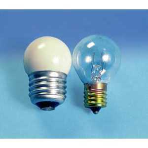 SYLVANIA 10S11N/CL-130V Miniature Incandescent Bulb, S11, 10W, 130V, Clear