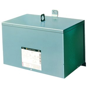 Square D 15T2F Transformer, Dry Type, 15KVA, 480  Delta Primary, 208Y/120V Secondary