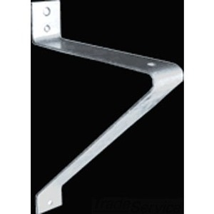RAB BTW12 Floodlight Bracket, Galvanized Steel, Wall Mount