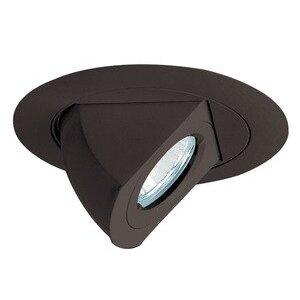 "Juno Lighting 449-BL 4"" Low Voltage Trim, Adjustable, Aiming Elbow, Black Trim"