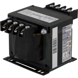Square D 9070T250D20 Control Transformer, 250VA, 208/230/480 - 115, Type T, 1PH, Open