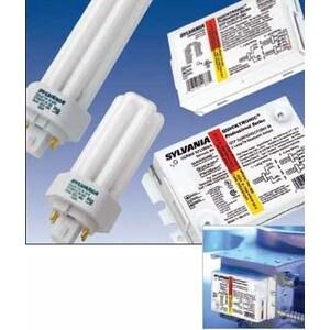 SYLVANIA QTP-1/2X18CF/UNV-DM Electronic Ballast, Compact Fluorescent, 2-Lamp, 18W, 120-277V