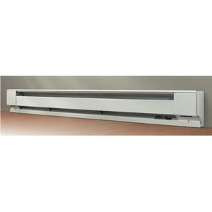 Berko 2545W Electric Baseboard Heater, 1250/940W, 240/208V